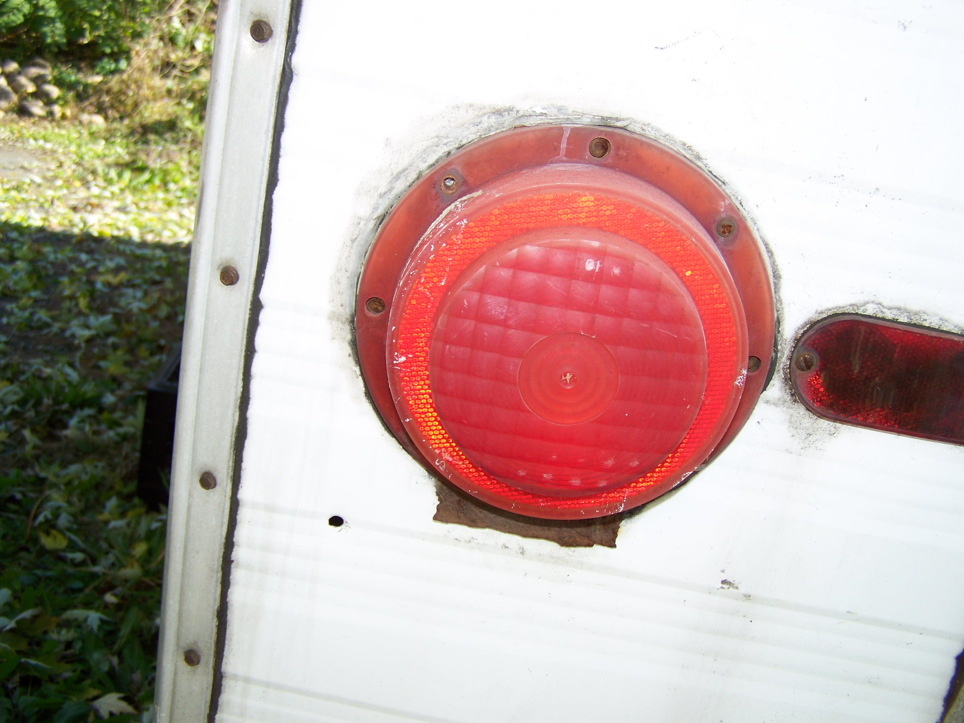 Model Camping Travel Trailer Stop Turn Tail And Back Up Lightwith License