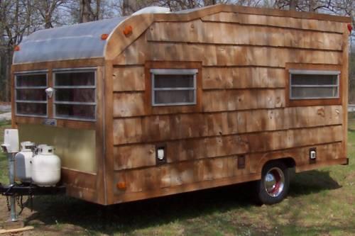 vintage campers the comet camper page 4. Black Bedroom Furniture Sets. Home Design Ideas