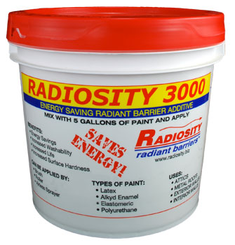 Radiosity 3000 Radiant Heat Barrier For The Comet The