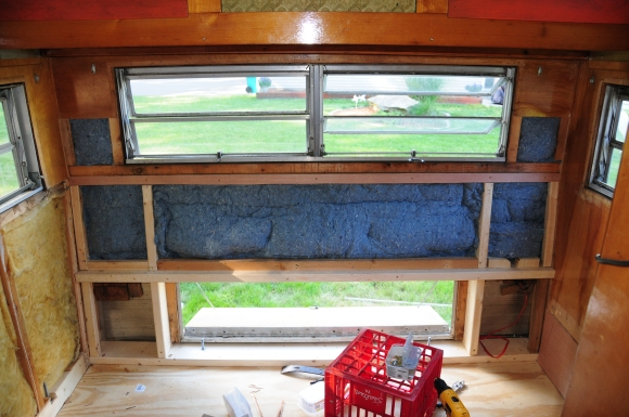 Insulate with UltraTouch Denim Insulation. See previous post for more about this cool stuff!