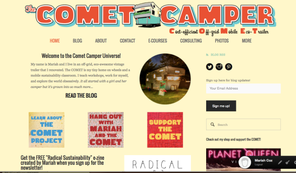 new website comet camper
